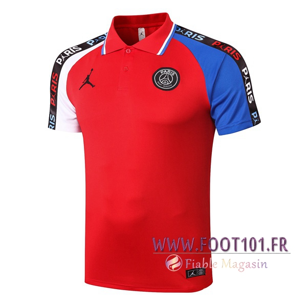 Polo Foot Paris PSG Rouge 2020/2021