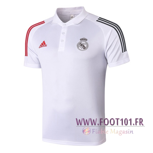 Polo Foot Real Madrid Blanc 2020/2021