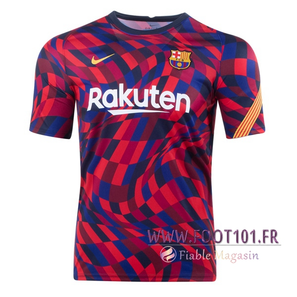 Training T-Shirts FC Barcelone Rouge 2020/2021