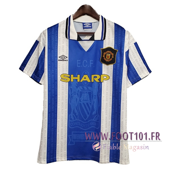 Maillot Retro Manchester United Exterieur 1994/1996