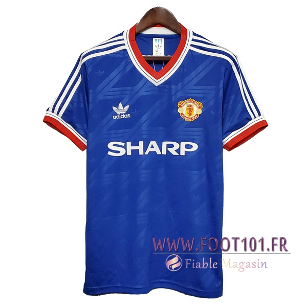 Maillot Retro Manchester United Exterieur 1988/1986