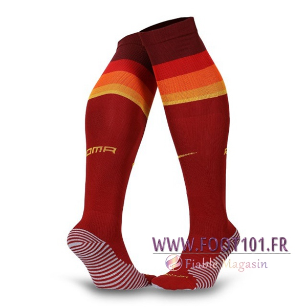 Chaussettes Foot AS Roma Domicile 2020 2021