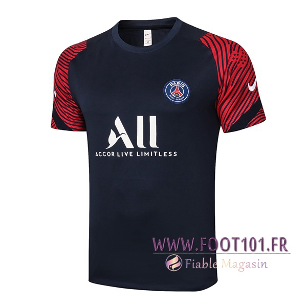Training T-Shirts Paris PSG Bleu Royal 2020/2021
