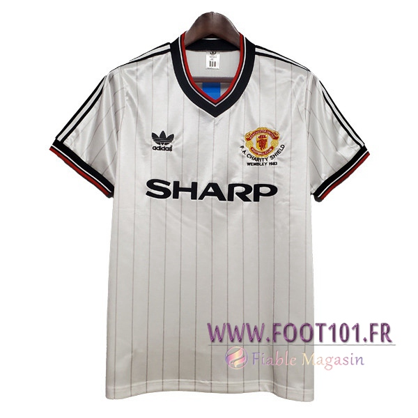 Maillot Retro Manchester United Exterieur 1983