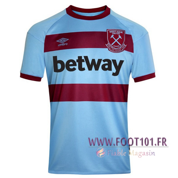 Maillot Foot West Ham Exterieur 2020 2021