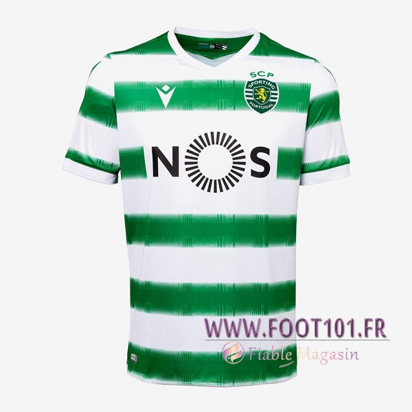 Maillot Foot Sporting Domicile 2020 2021