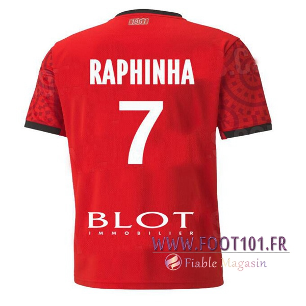Maillot Foot Stade Rennais (RAPHINHA 7) Domicile 2020 2021