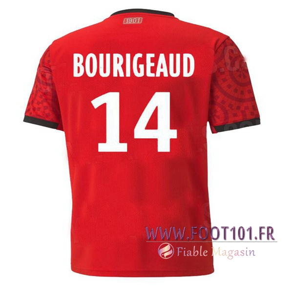 Maillot Foot Stade Rennais (BOURIGEAUD 14) Domicile 2020 2021