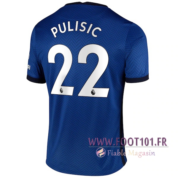 Maillot Foot FC Chelsea (Pulisic 22) Domicile 2020 2021