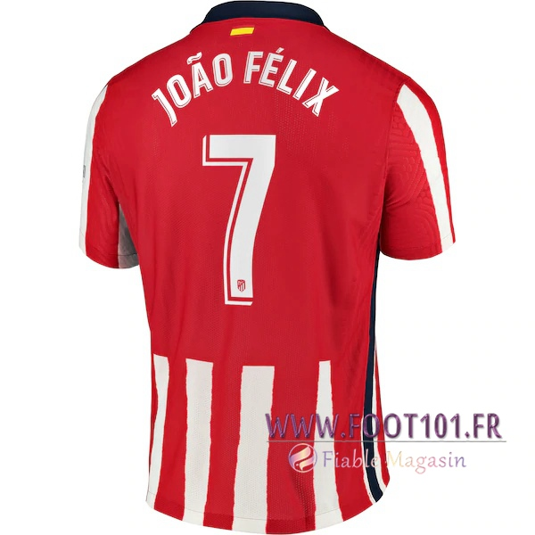Maillot Foot Atletico Madrid (Joao Felix 7) Domicile 2020 2021