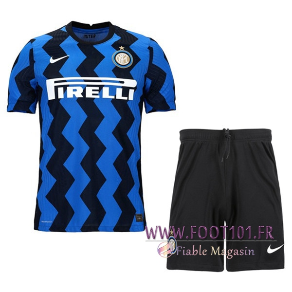 Ensemble Maillot Foot Inter Milan Domicile + Short 2020 2021