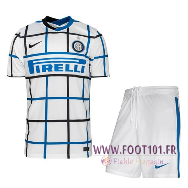 Ensemble Maillot Foot Inter Milan Exterieur + Short 2020 2021