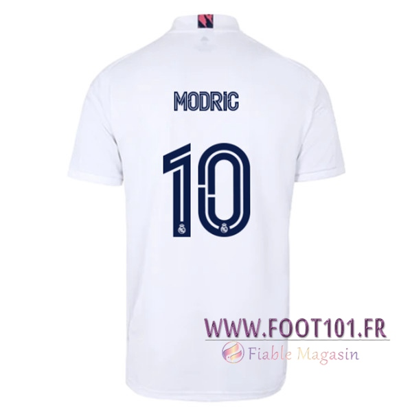 Maillot Foot Real Madrid (MODRIC 10) Domicile 2020/2021