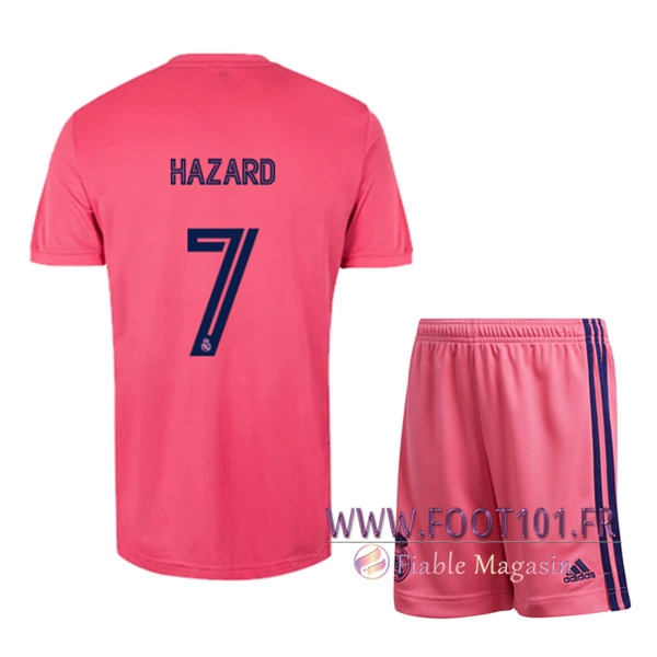 Maillot de Foot Real Madrid (HAZARD 7) Enfants Exterieur 2020/2021