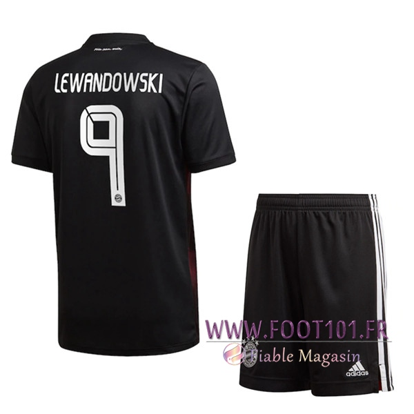Maillot de Foot Bayern Munich (Lewandowski 9) Enfants Third 2020/2021