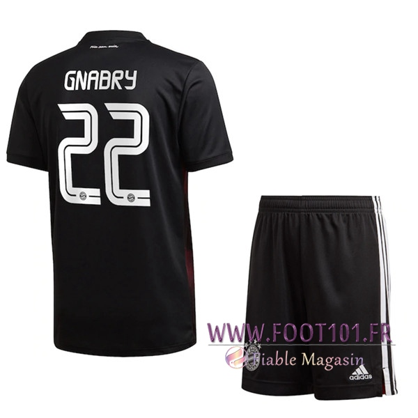 Maillot de Foot Bayern Munich (Gnabry 22) Enfants Third 2020/2021