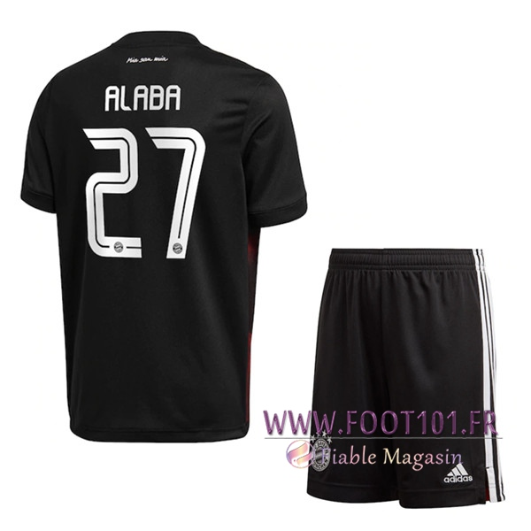 Maillot de Foot Bayern Munich (Alaba 27) Enfants Third 2020/2021