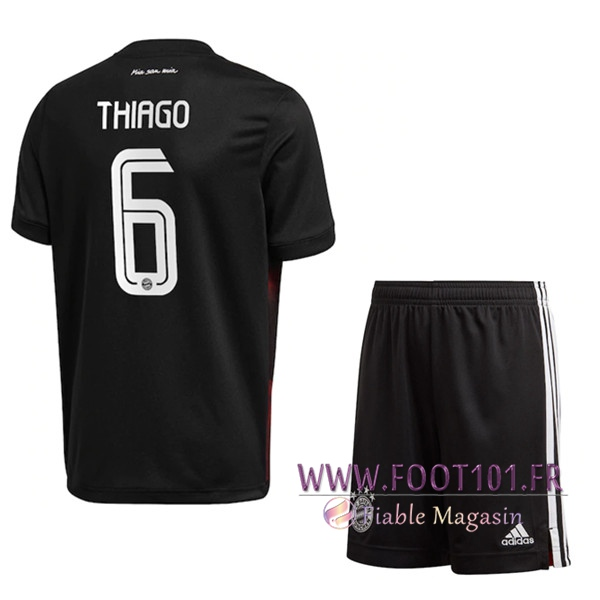Maillot de Foot Bayern Munich (Thiago 6) Enfants Third 2020/2021