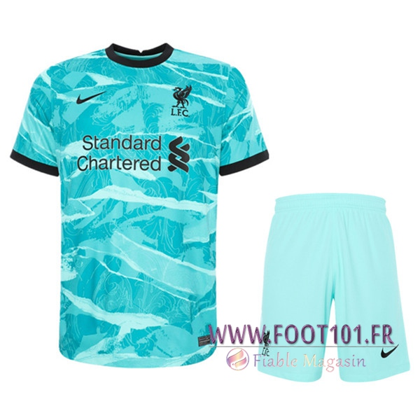 Ensemble Maillot Foot FC Liverpool Exterieur + Short 2020/2021