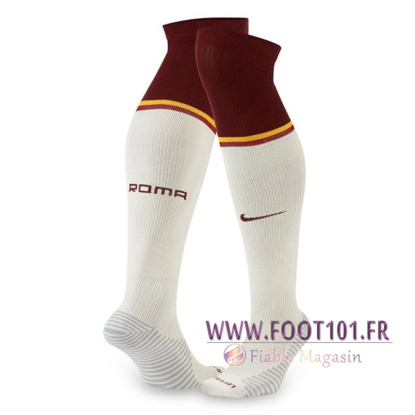 Chaussettes Foot AS Roma Exterieur 2020 2021