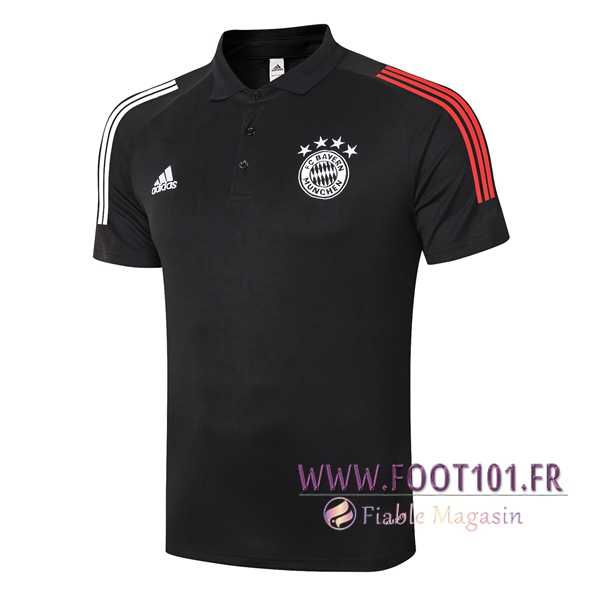 Polo Foot Bayern Munich Noir 2020/2021