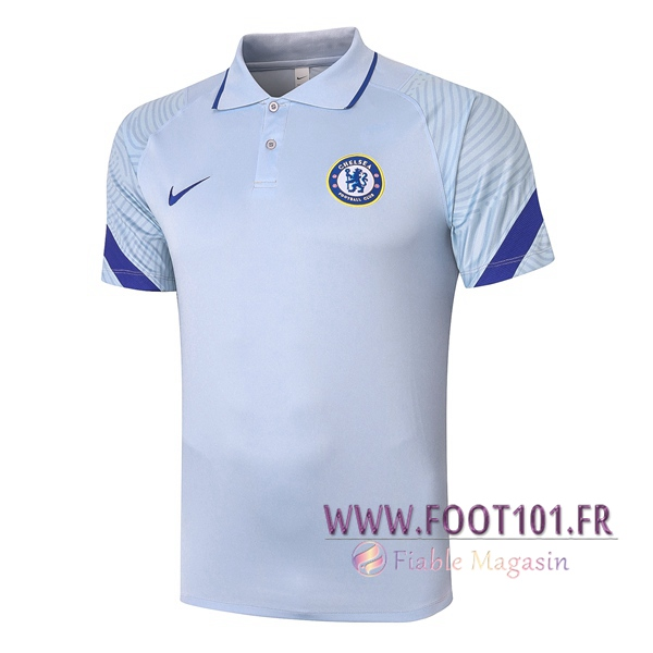 Polo Foot FC Chelsea Gris 2020/2021