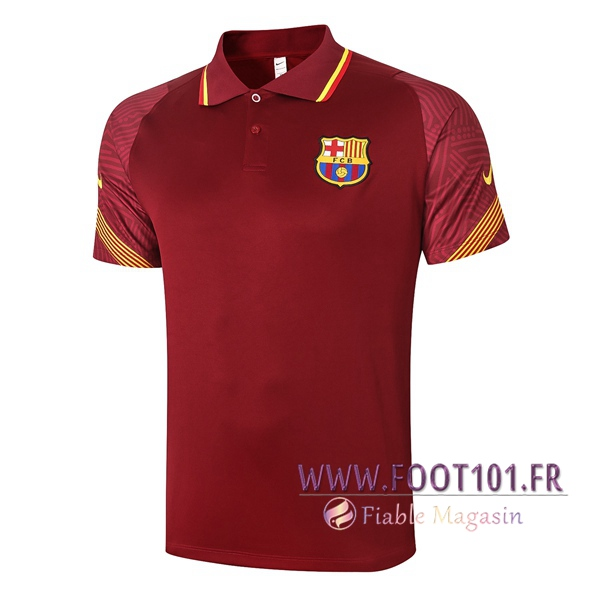 Polo Foot FC Barcelone Rouge 2020/2021