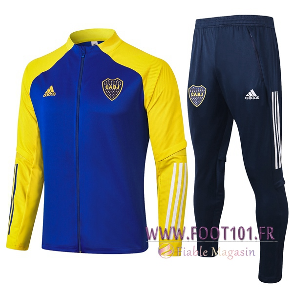 Ensemble Survetement de Foot - Veste Boca Juniors Bleu 2020/2021