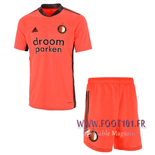 Maillot de Foot Feyenoord Enfant Gardien de But 2020/2021