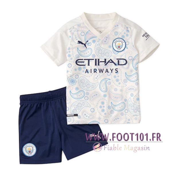 Maillot de Foot Manchester City Enfant Third 2020/2021