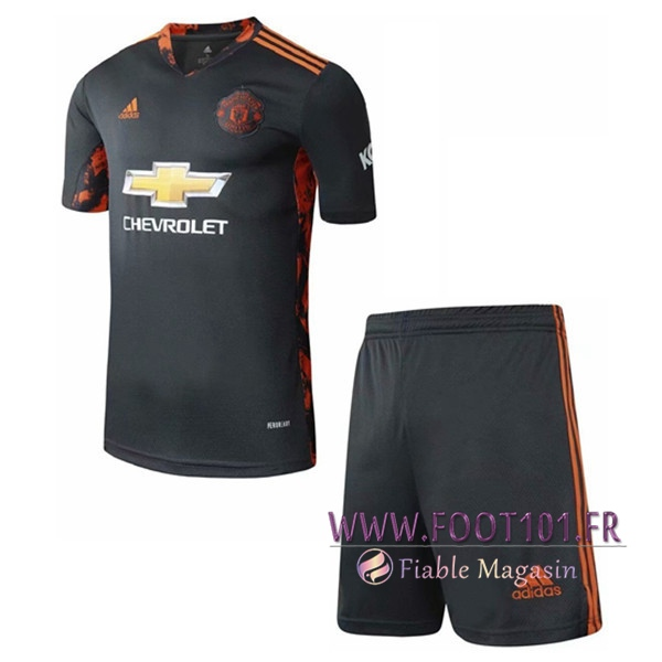 Maillot de Foot Manchester United Enfant Gardien de But 2020/2021