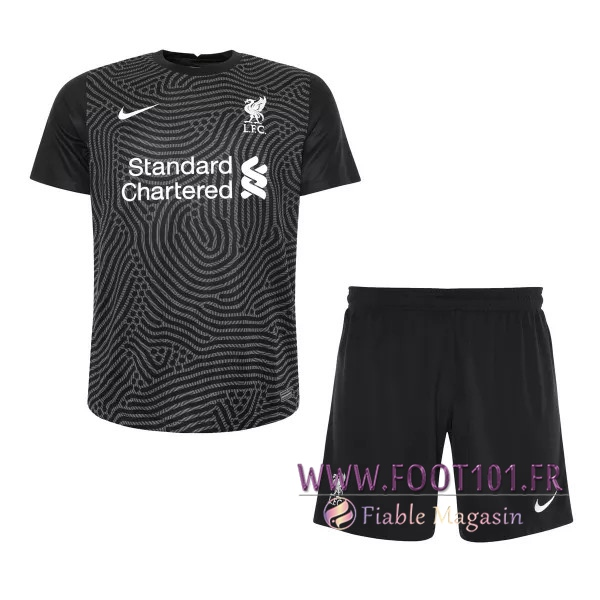 Maillot de Foot FC Liverpool Enfant Gardien de But 2020/2021