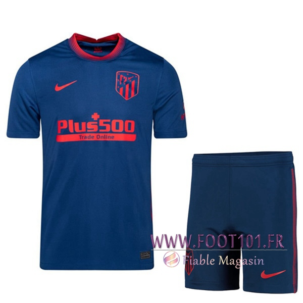 Maillot Foot Foot Atletico Madrid Exterieur + Short 2020/2021