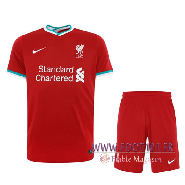 Maillot Foot Foot FC Liverpool Domicile + Short 2020/2021
