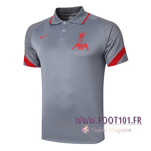 Polo Foot FC Liverpool Gris 2020/2021