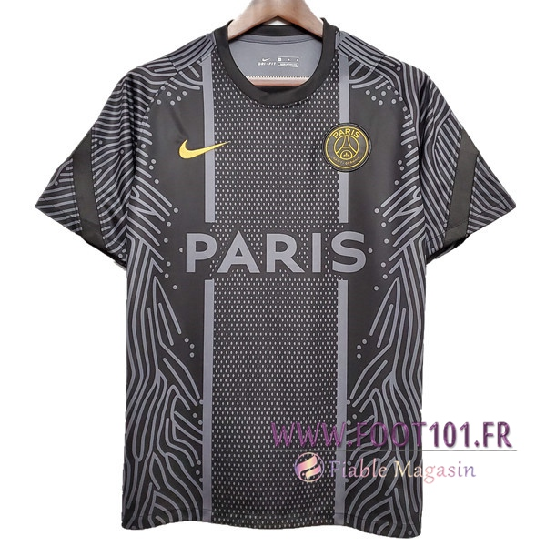 Training T-Shirts Paris PSG Noir 2020/2021