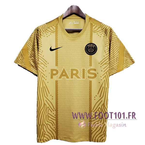 Training T-Shirts Paris PSG Jaune 2020/2021