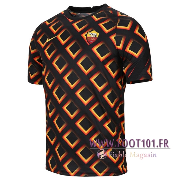 Training T-Shirts AS Roma Noir 2020/2021