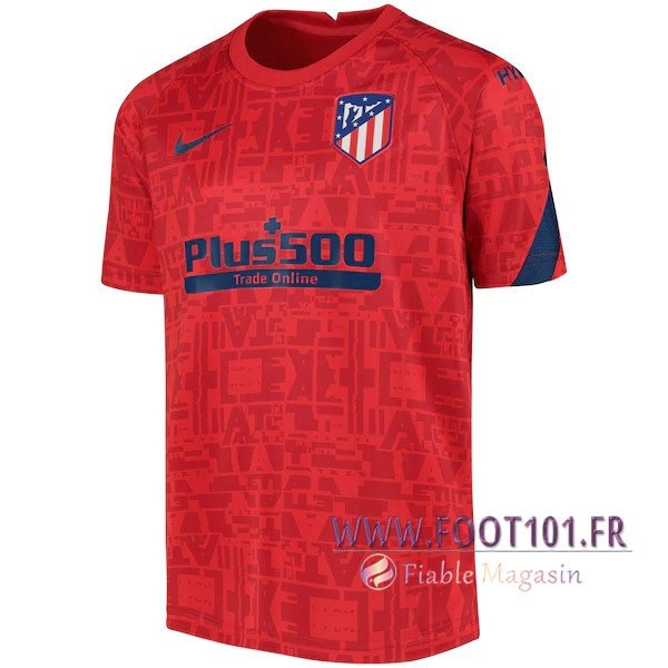 Training T-Shirts Atletico Madrid Rouge 2020/2021