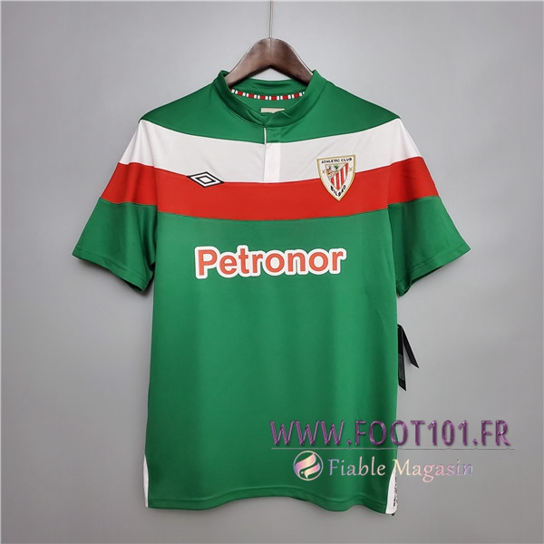 Maillot de Foot Athletic Bilbao Retro Domicile 2011/2012