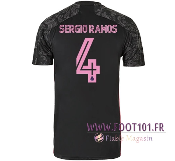 Maillot Foot Real Madrid (SERGIO RAMOS 4) Third 2020/2021