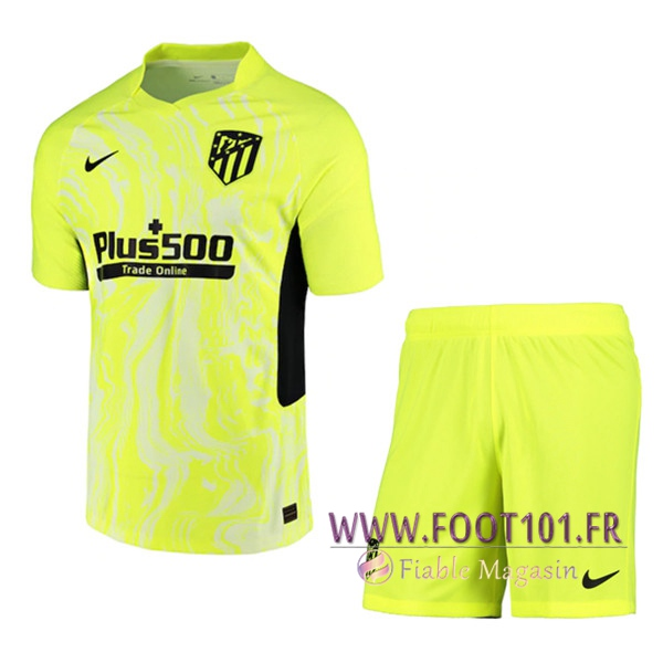 Ensemble Maillot Foot Atletico Madrid Third + Short 2020/2021
