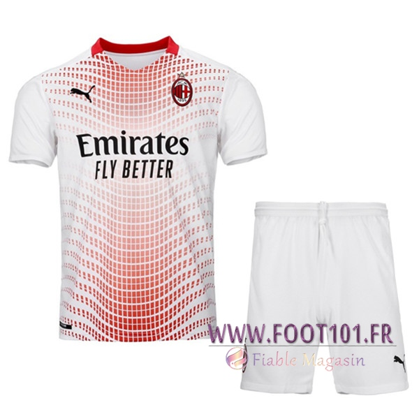 Ensemble Maillot Foot Milan AC Exterieur + Short 2020/2021