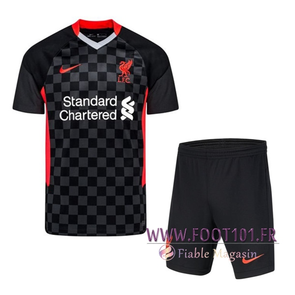 Ensemble Maillot Foot FC Liverpool Third + Short 2020/2021